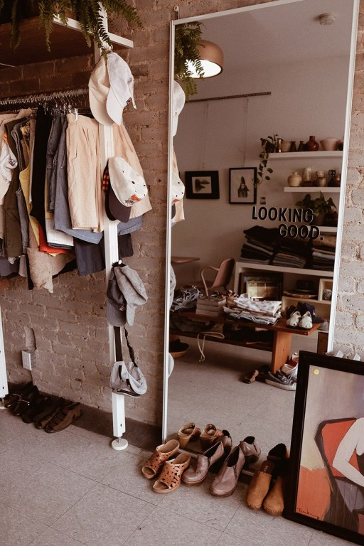 Vintage shop Coffee & Clothing in East Toronto