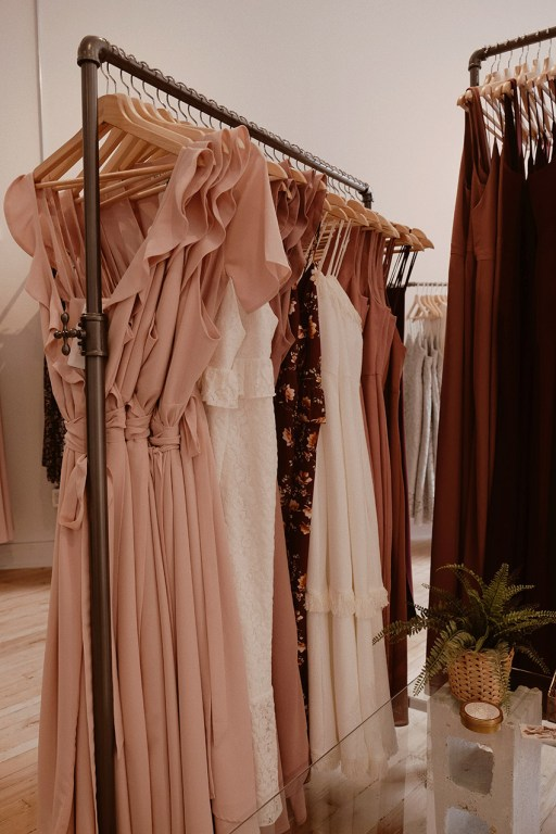 Formal wear Fifth and Park boutique in East Toronto