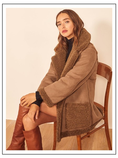 Ethical and sustainable coat to keep you warm and stylish all winter long.