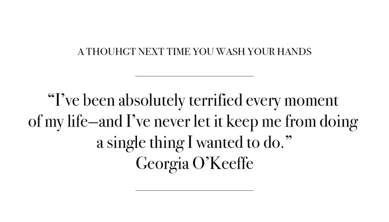 Quote by Georgia O'Keeffe