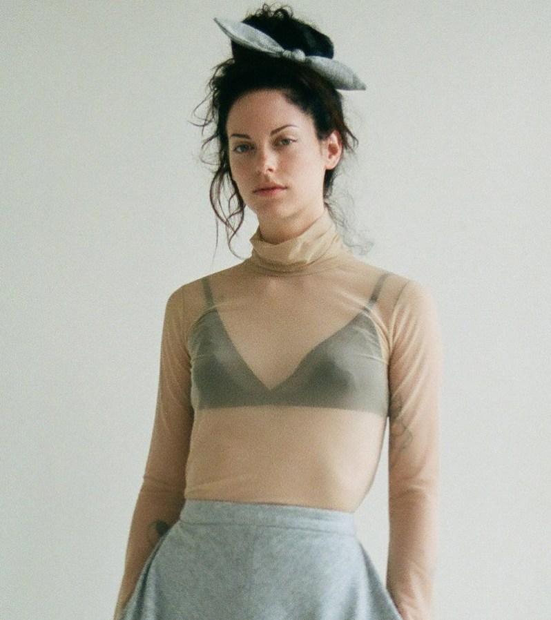 Eliza Faulkner turtleneck made in Quebec