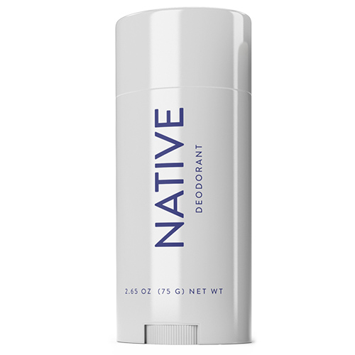 Unscented natural deodorant by Native
