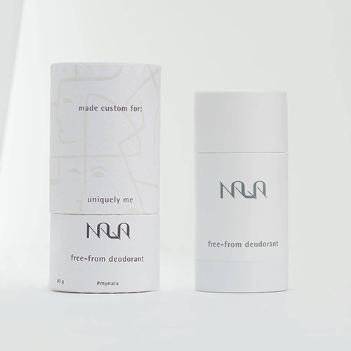 Personalized deodorant by Nala