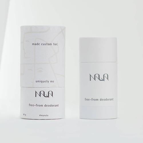 Personalized deodorant by Nala