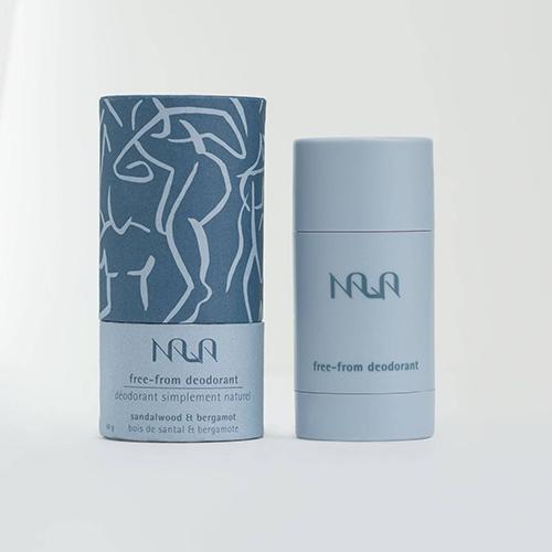 Natural sandalwood and bergamot deodorant by Nala