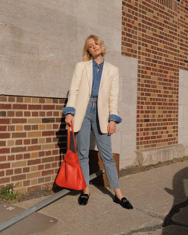 Navona bag by ethical leather handbag company Wearshop