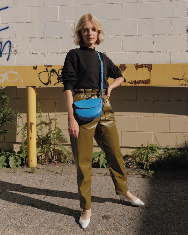 Corsia bag by ethical leather handbag company Wearshop