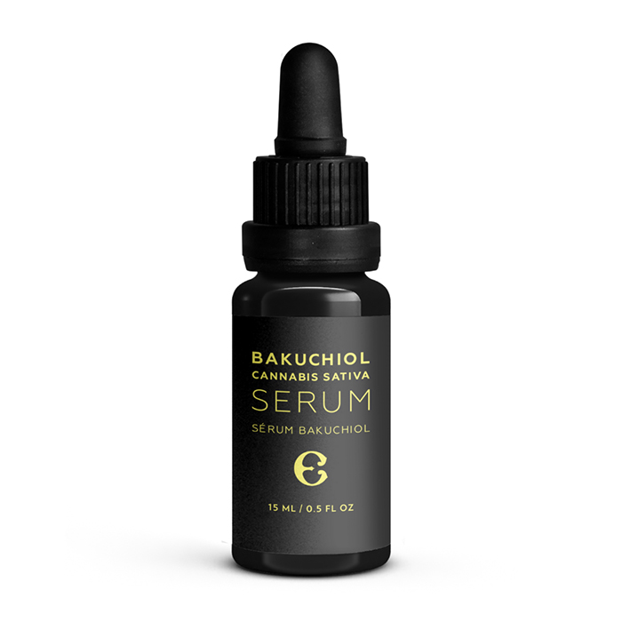 Bakuchiol and cannabis sativa serum by Étymologie