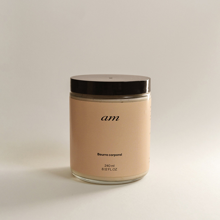 Body butter by Montreal brand AM