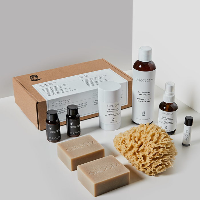 Body care kit by Groom
