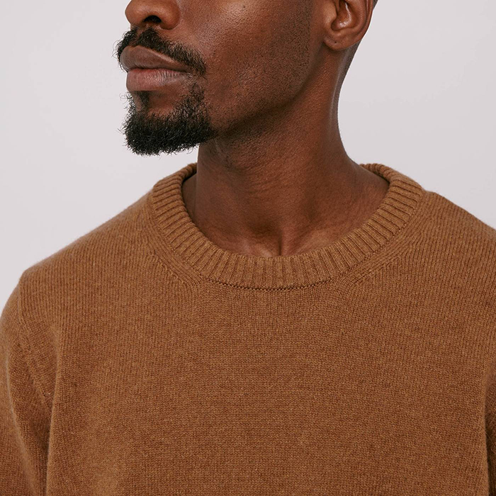 Recycled wool sweater by Organic Basics