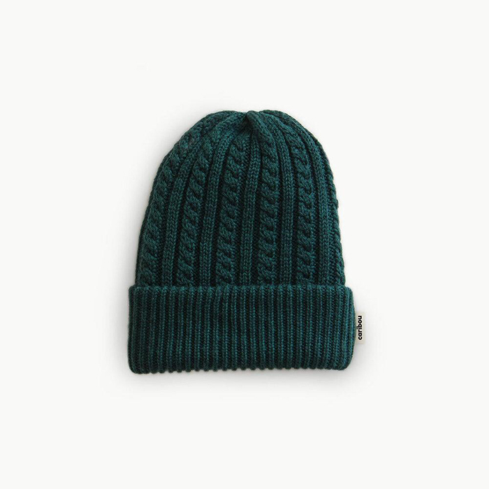 Merino wool beanie knitted in Montreal by Caribou