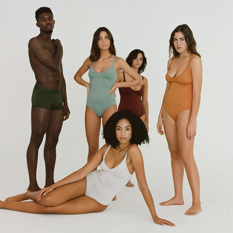 Organic cotton ethical underwear from Spanish brand Nude.