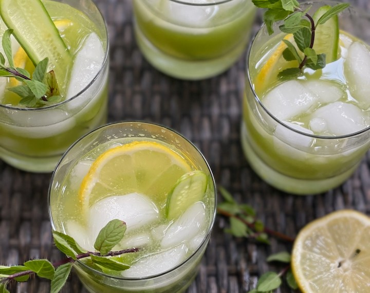 Cucumber and Fennel Cooler & Cocktail
