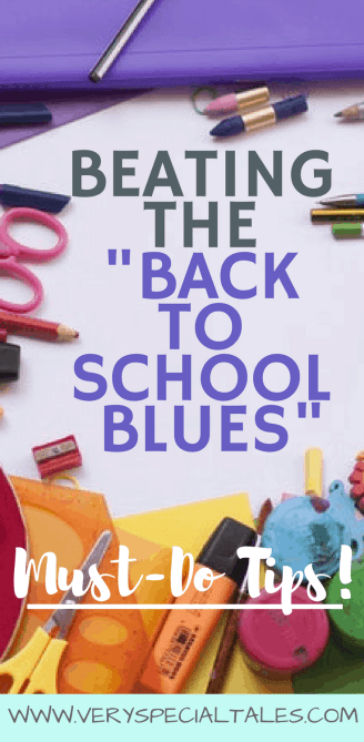 Tips to Help Beat the Back To School Blues