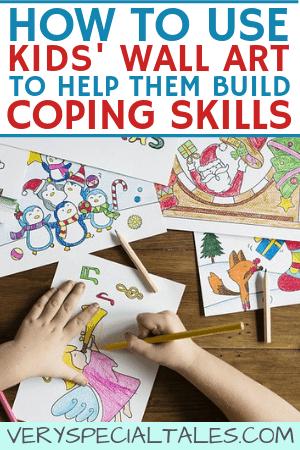 Kids' Wall Art Ideas to Develop Coping Skills & Fight