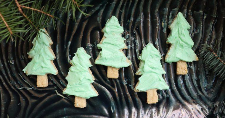 The Ultimate Vegan Christmas Cookie- Vegan Spruce Sugar Cookies