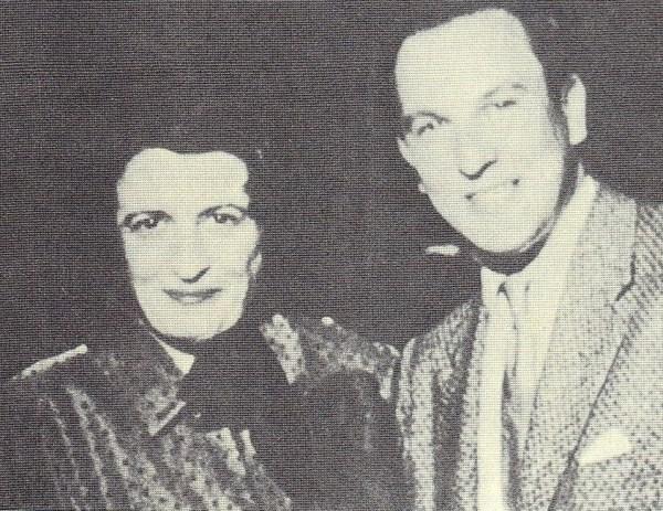 Ayn Rand ve Nathaniel Branden, 1950'ler.