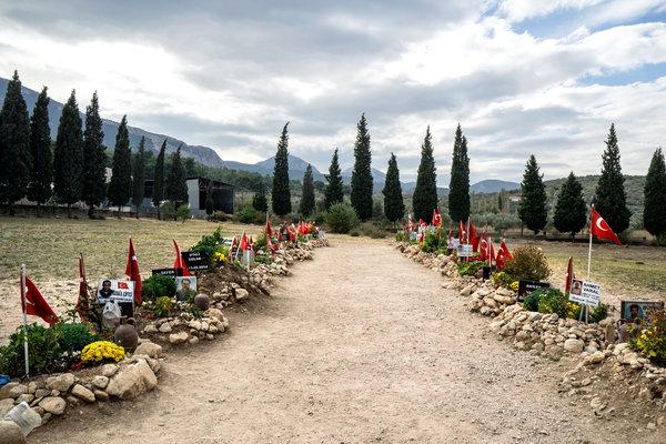Soma Mezarlığı. Fotoğraf: George Georgiou