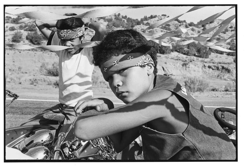 Chimayo Fiesta Parade. 1982. © Kevin Bubriski