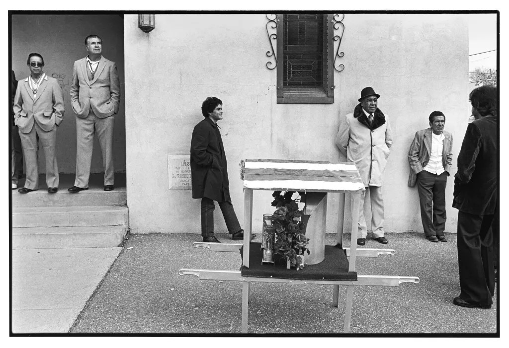 Guadalupe Feast Day. Albuquerque. 1982. © Kevin Bubriski
