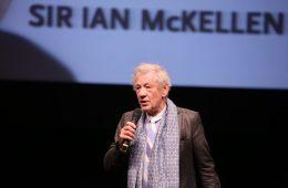 """Ian McKellen. Fotoğraf: Ersin Durmuş. """"Günah Keçisi Tercüman"""""""