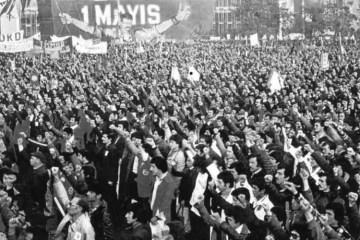1 Mayıs 1977, İstanbul.