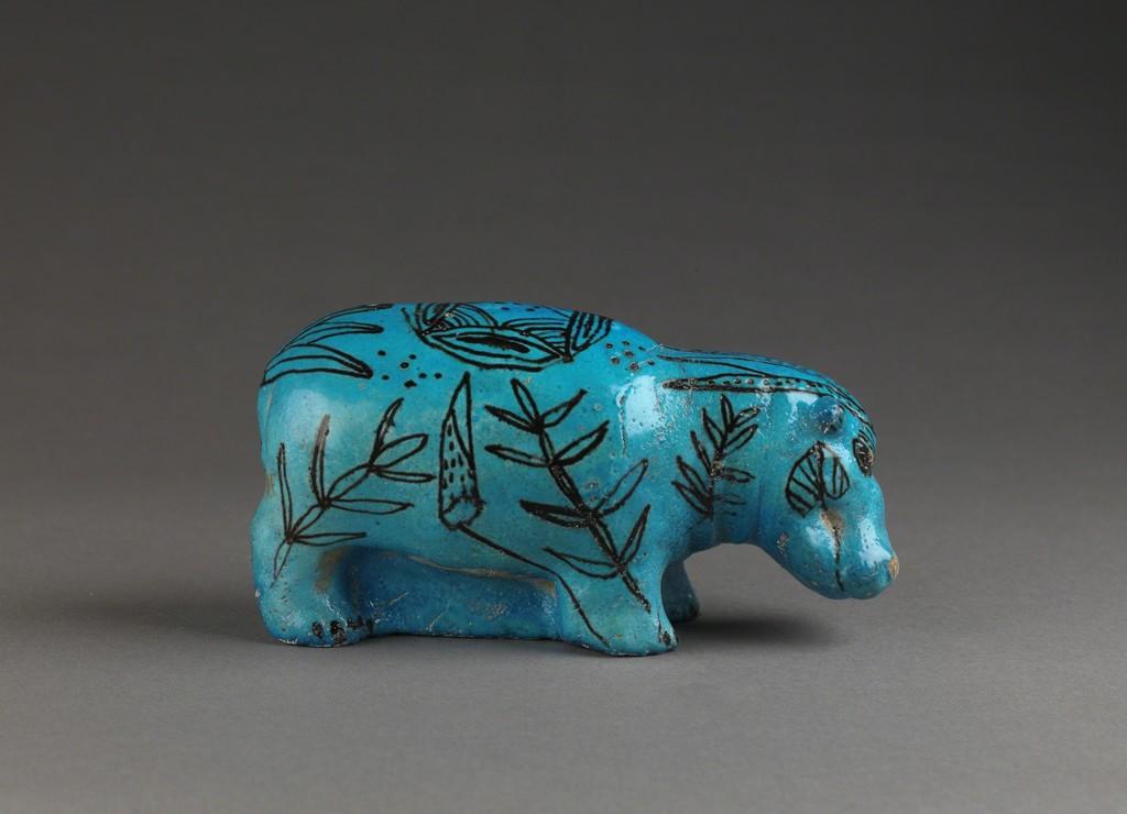 Mavi Su Aygırı, MÖ 3800 - 1700 (Louvre Müzesi Koleksiyonu)