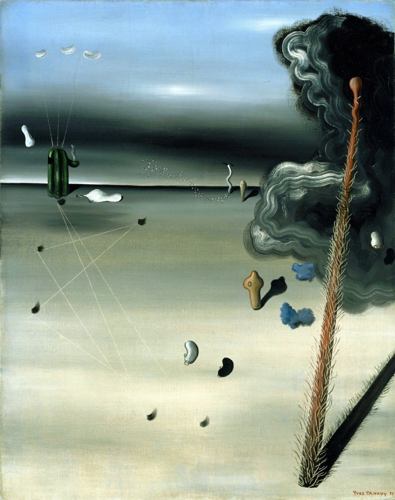 """""""Mama, Papa is Wounded!"""" (Yves Tanguy, 1927)"""