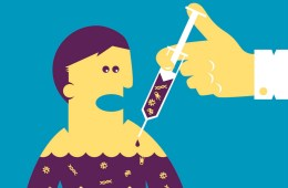 Aşı. İllüstrasyon: Patronauta/Thinkstock
