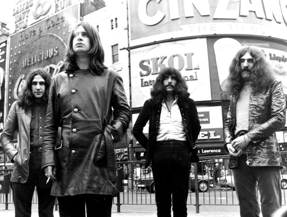 Black Sabbath Londra'da, 1970 (fotoğrafçı bilinmiyor).