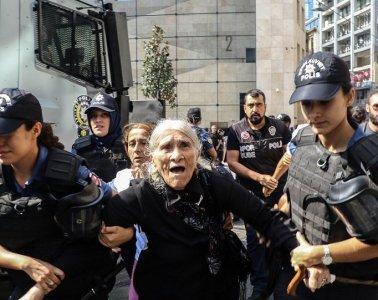 Emine Ocak. Fotoğraf: Hayri Tunç / AFP.