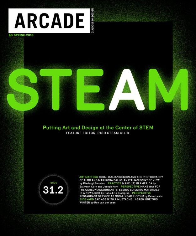 ARCADE magazine issue on STEAM