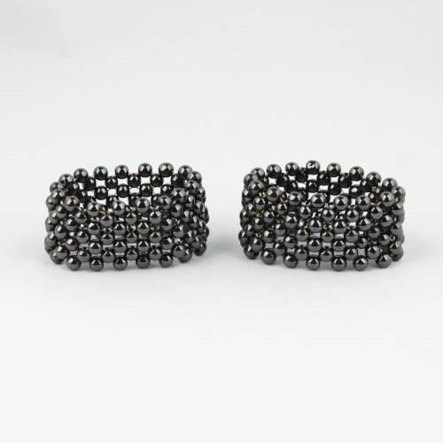 hematite woven bracelet Hematite, Woven Bracelet Vesica Institute for Holistic Studies