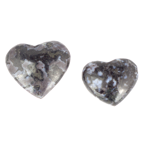 indigo gabbro hearts Indigo Gabbro, Heart, Polished Vesica Institute for Holistic Studies