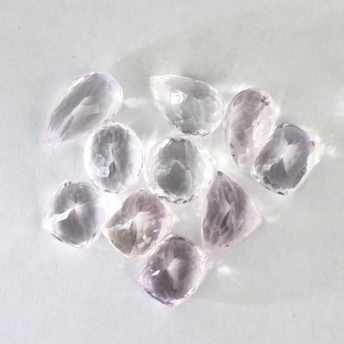 kunzite faceted raw gemstones afganistan7 Kunzite, Gemstone, All Natural Untreated, Himalayan Vesica Institute for Holistic Studies