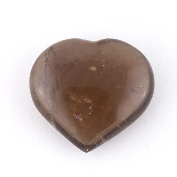 smoky heart a Quartz, Smoky, Hearts, Medium 4-5cm Vesica Institute for Holistic Studies