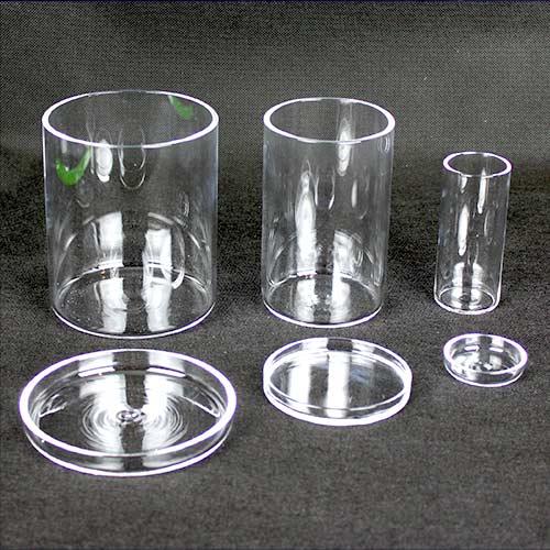 Quartz Cylinders w Lids Full Set 1