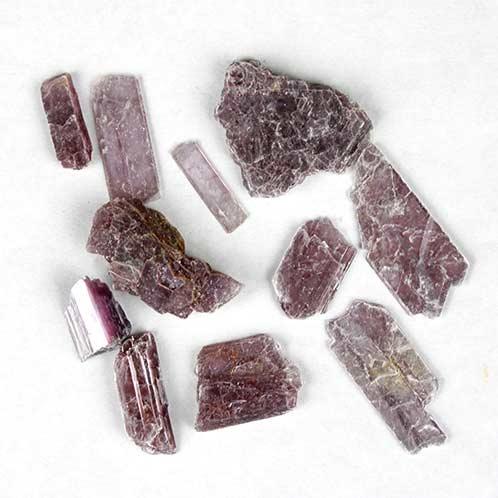 lepidolite mica bag 1 Lepidolite Mica Pieces, 25g Bags Vesica Institute for Holistic Studies
