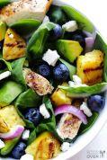Insalata Ananas e Avocado