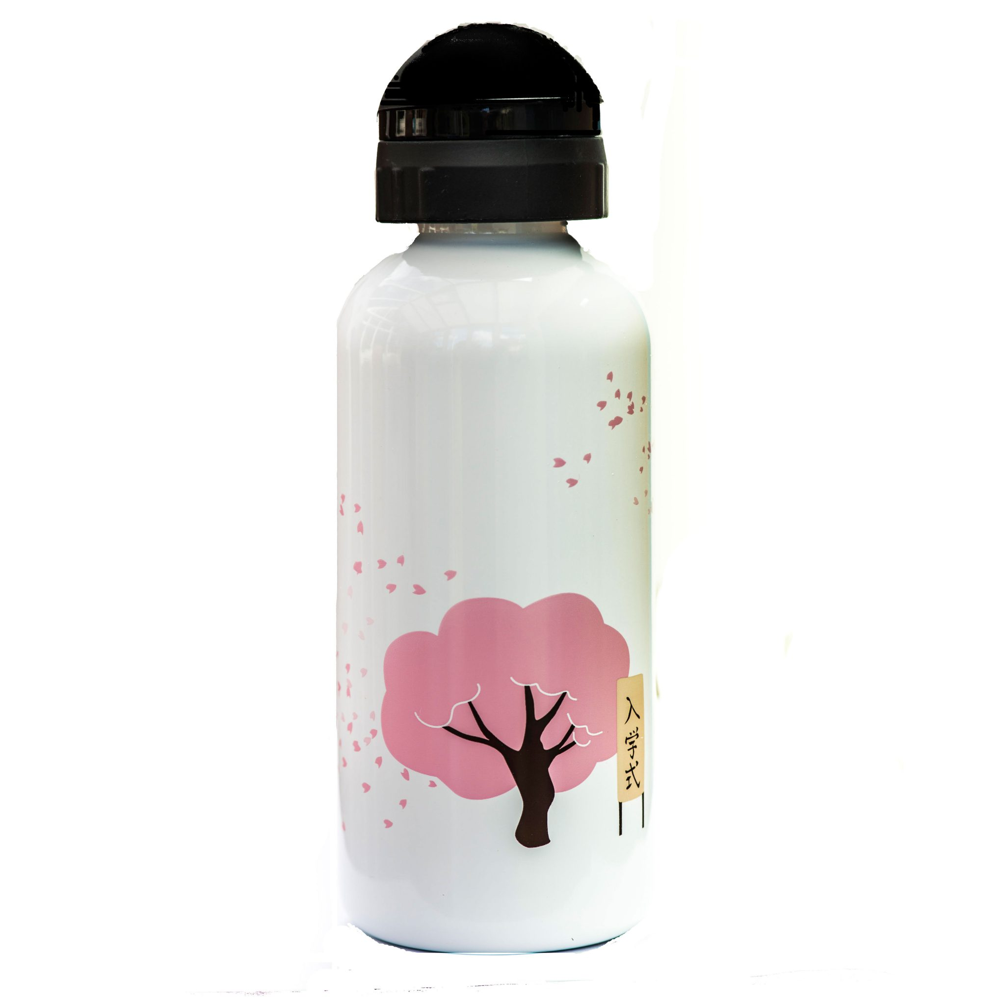 «Цветение Вишни». Бутылочка для воды из нержавеющей стали. 600 мл