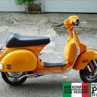 Bumble bee transformers Vespa PX