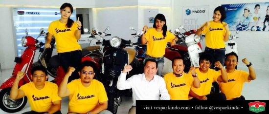beli Vespa Medan
