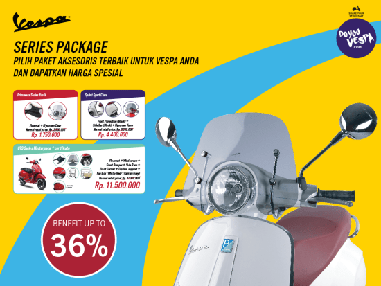 vespa accessories special promo Indonesia