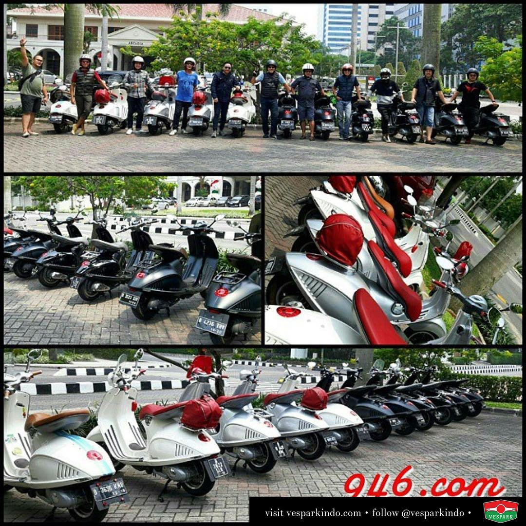 Vespa dream team 946.com Indonesia by @move_ina