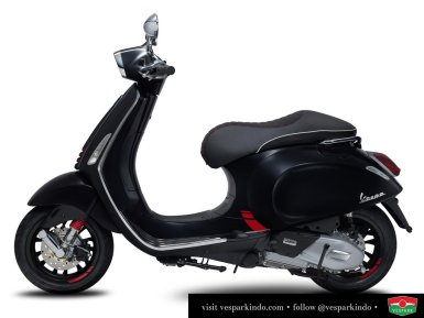 vespa sprint carbon limited edition
