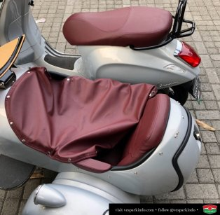 vespa sidecar seat cover