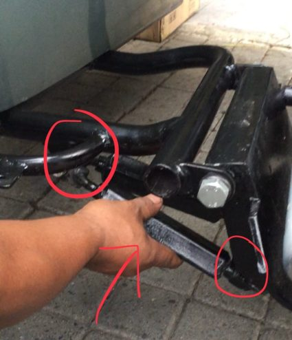 vespa sidecar adjust