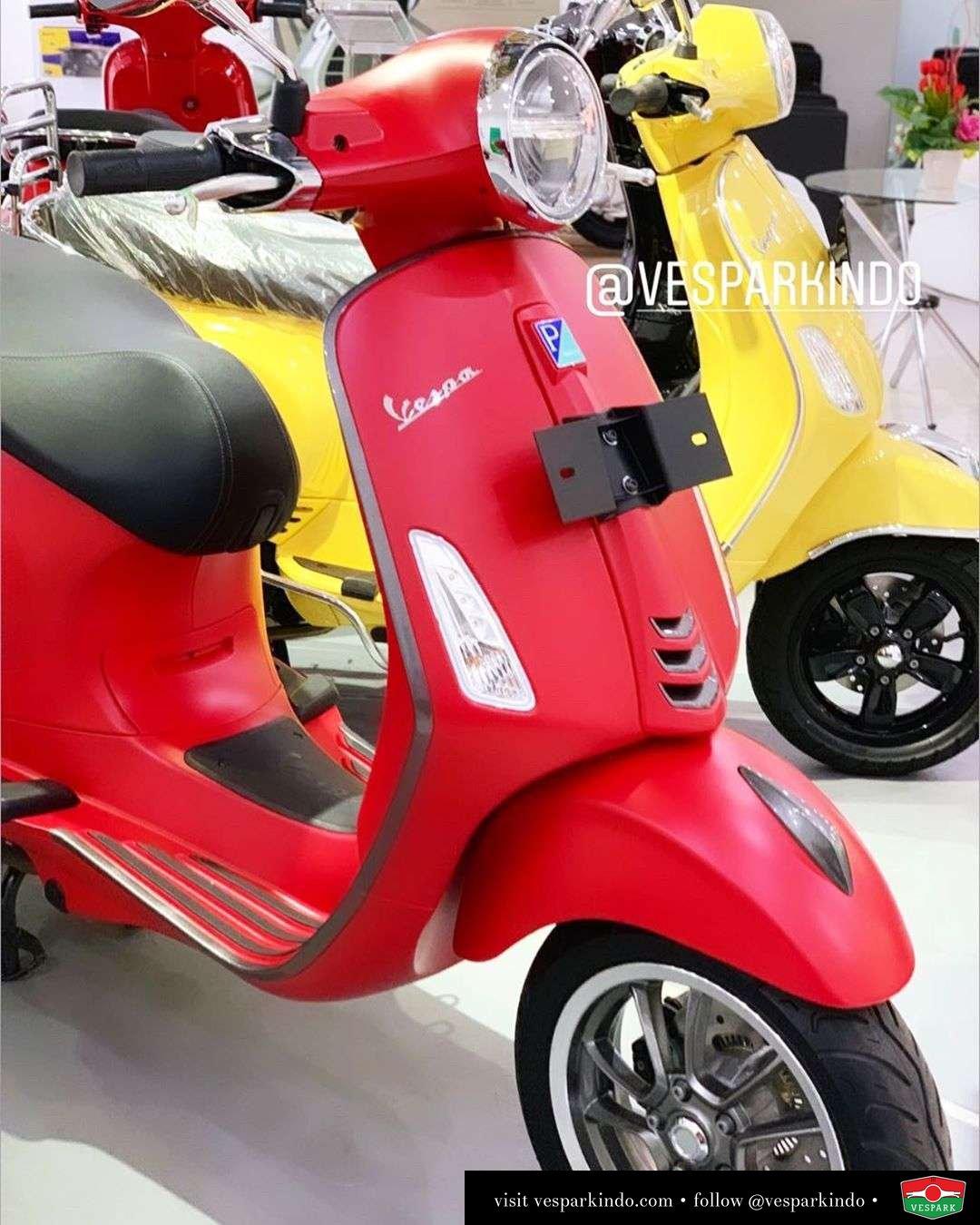 New Vespa Primavera LED ABS iGet Now at Vespark