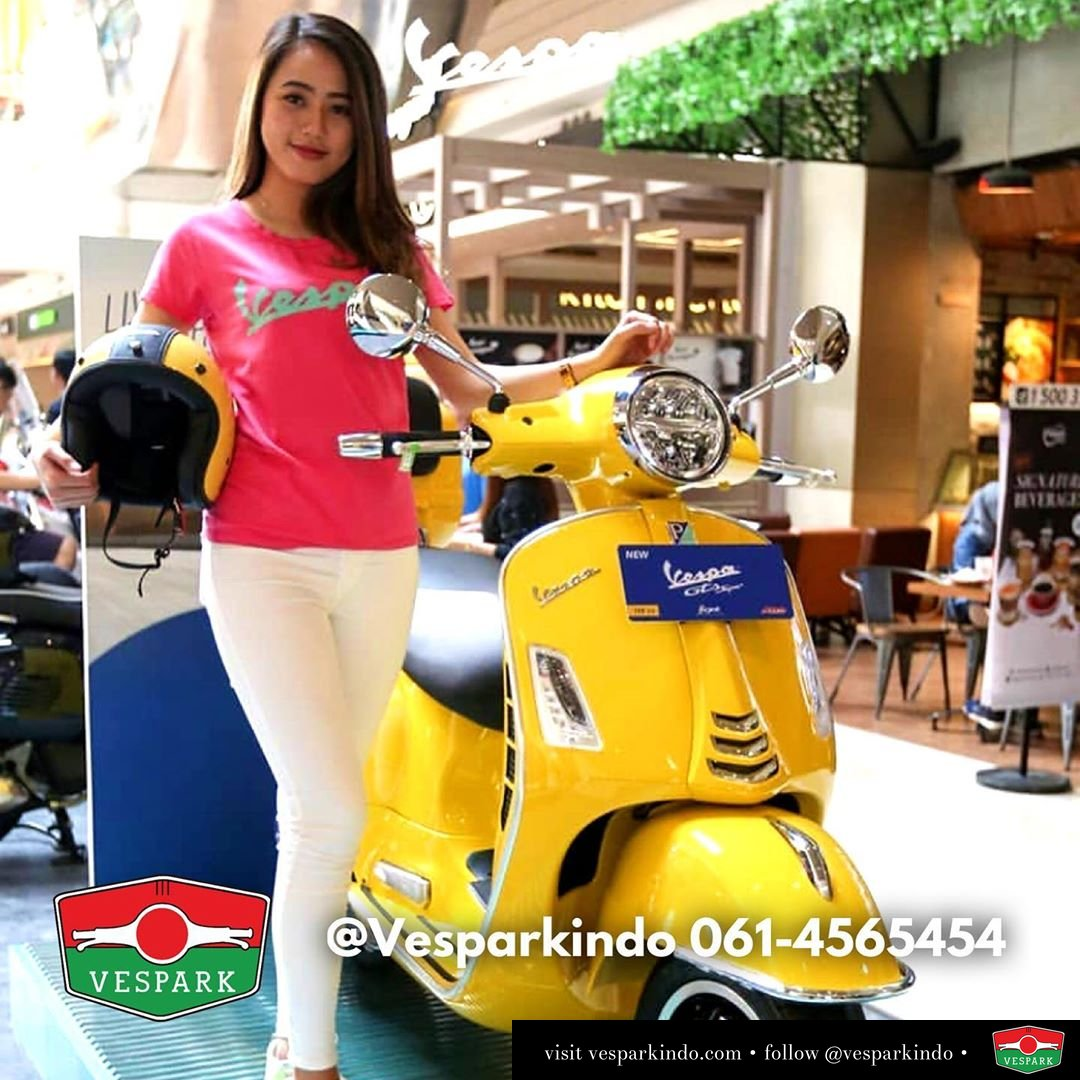 Vespa GTS Super 150 ABS new LED 2019 telah hadir di Indonesia dan kota Medan! Scooter matic Italia dengan berbagai teknologi yang canggih dan berqualitas yang tidak usah ragu lagi. Hubungi dealer resmi Piaggio Vespa di Vespark Medan @vesparkindo dan dapatkan penawaran menarik Lokasi di jln Prof HM Yamin no.16A sebelum jln Jawa. Juga melayani pengirim ke seluruh Sumatera Utara termasuk Aceh dan Pekanbaru. Silakan hub 061-4565454 atau WA 0815-21-595959 Cek IG @vesparkindo